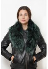 Fur collar of argente fox Londres