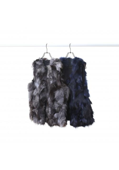 Fur vest of fox Pascal