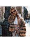 Fur jacket of raccoon Vega