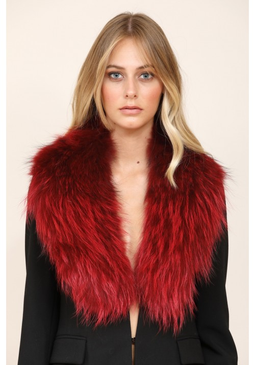 Fur stole of raccoon Brenda