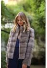 Fur jacket of mink Rania