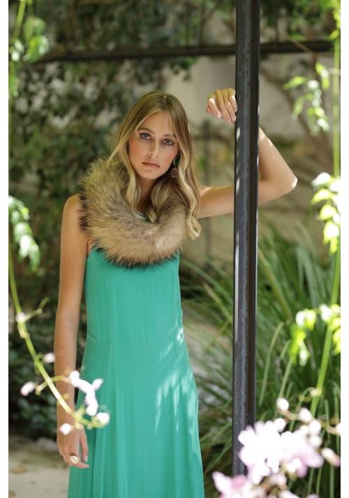 Fur collar of fox Akane