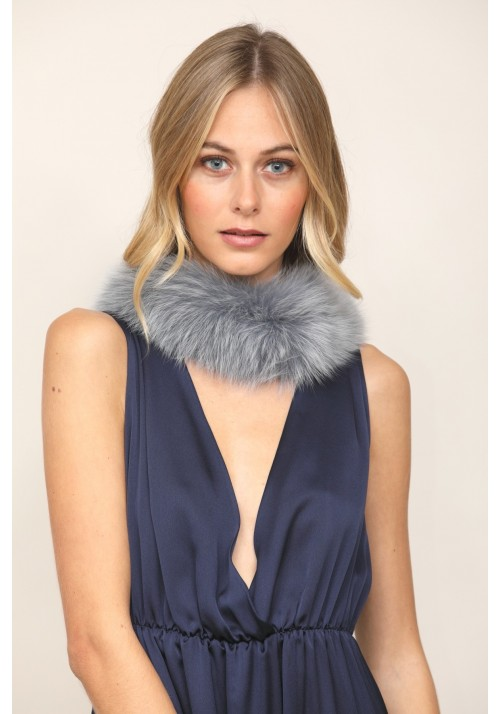 Fur collar of fox Hela