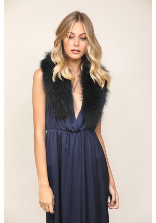 Fur collar of fox Maxine