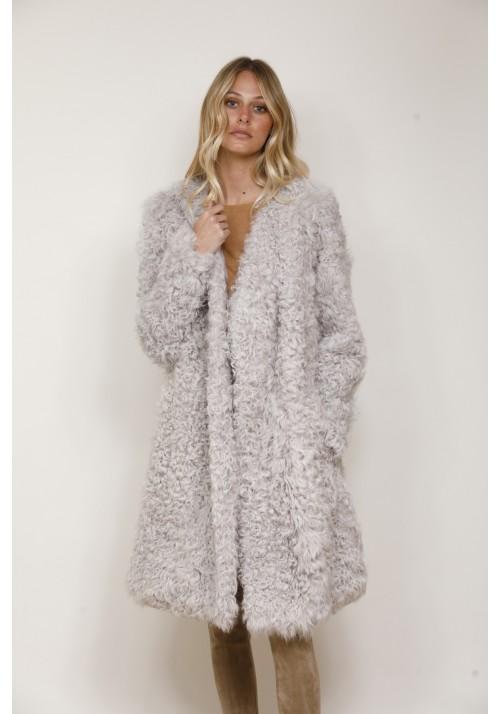 Fur Coat of lamb Aida