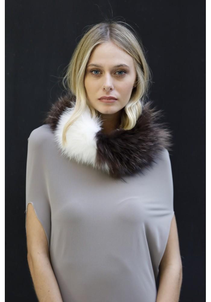 Fur collar of fox Denver