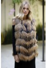 Fur vest of raccoon Zeus
