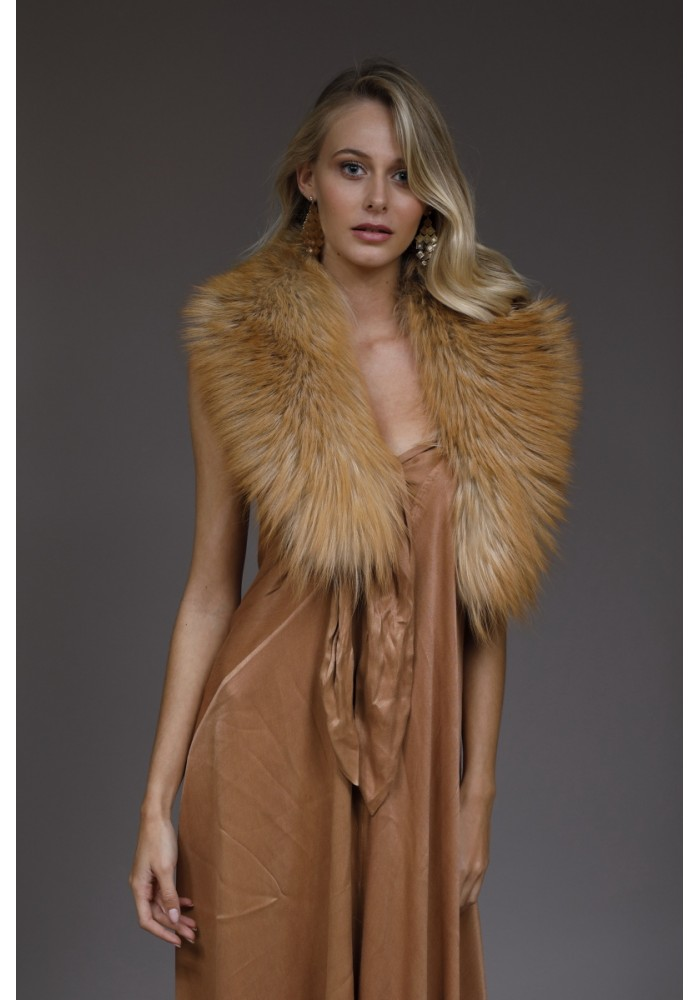 Fur collar of fox Kendall