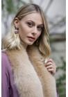 Fur stole of fox Livia