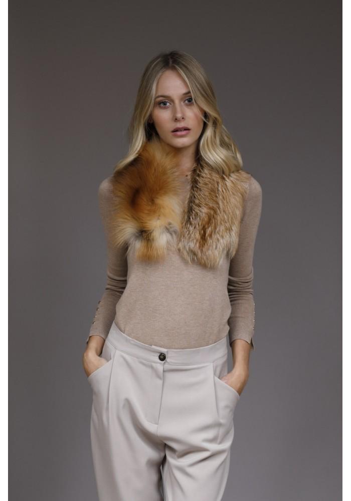Fur collar of fox Adele