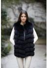 Fur vest of fox Cindy