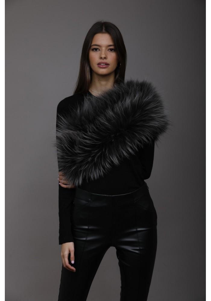 Fur elastic stole of fox Donna