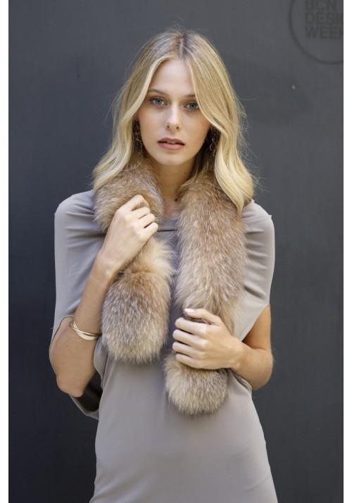 Fur collar of fox Arlet