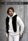 Fur stole of fox Acapulco Men's Collection