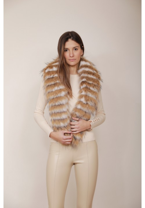 Fur stole of fox Dalia