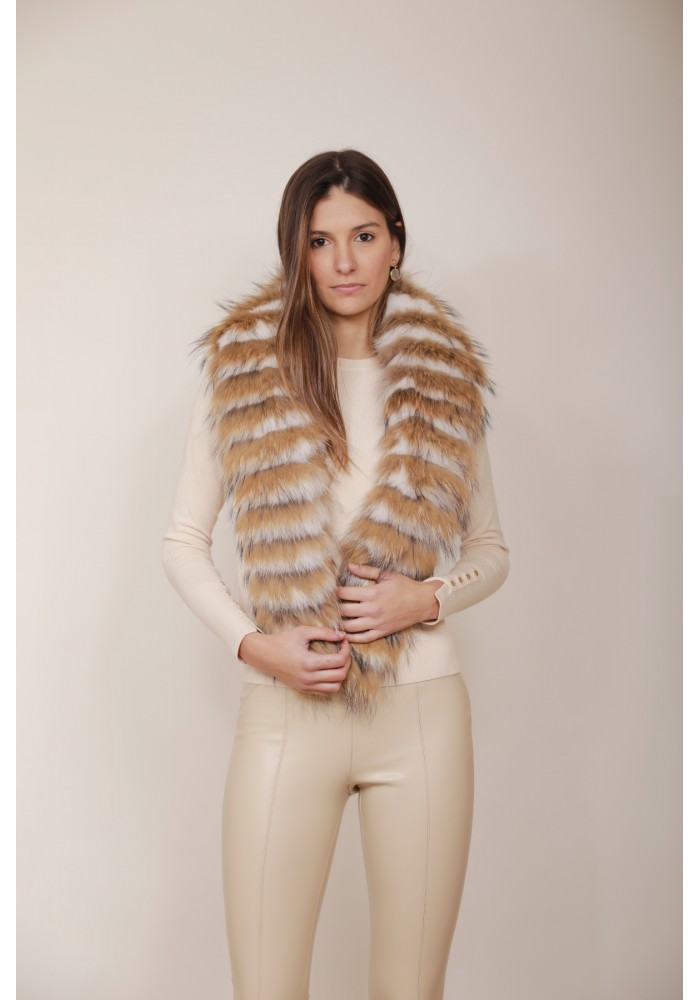 Fur stole of fox Dalia