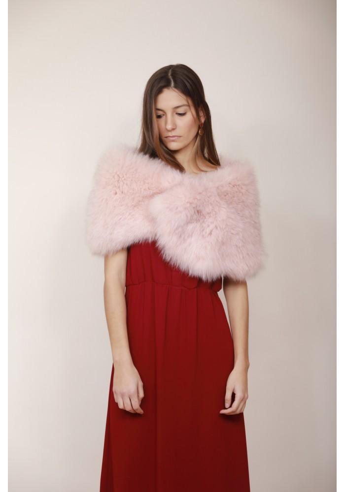 Fur stole of fox Maryl