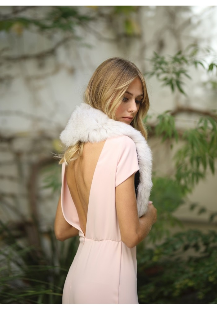 Fur stole of fox Laredo Bridal Collection