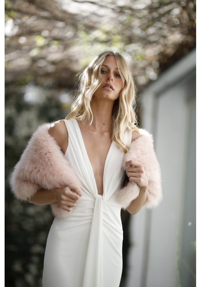 Fur stole of fox Maryl Bridal Collection