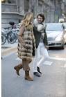 Fur vest of raccoon Eira