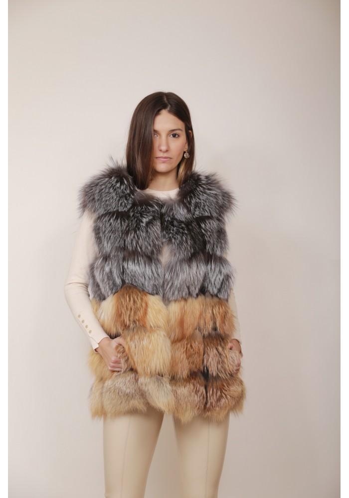 Fur vest of fox Moon