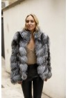 Fur jacket of fox Chloé