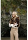 Fur Jacket of raccoon Lille