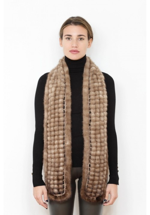 Fur scarf of mink Kiev