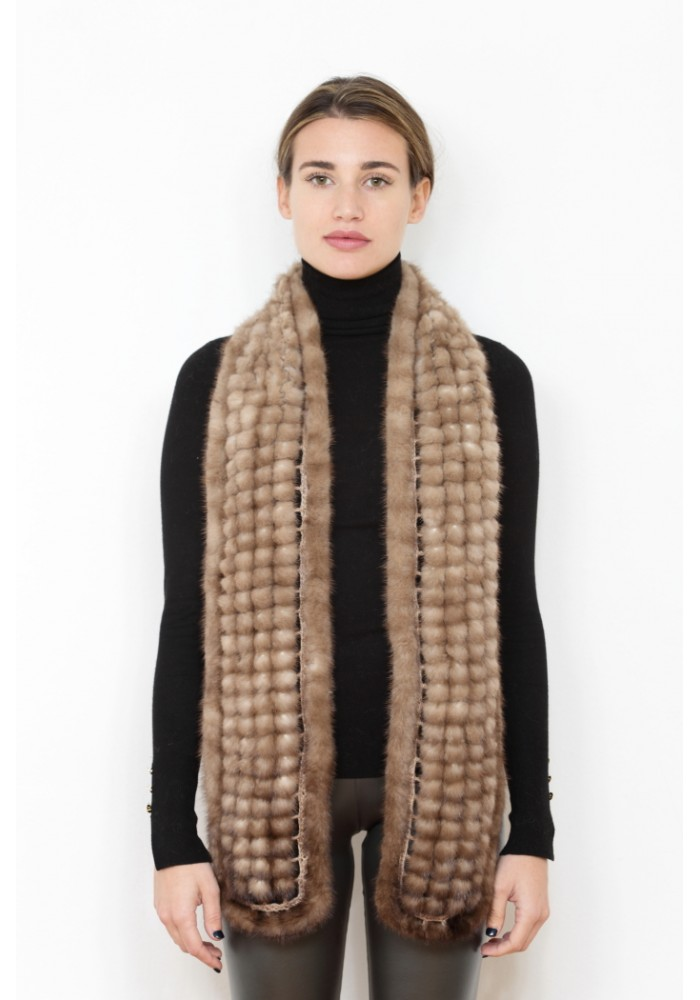 Fur scarf of mink Kiev