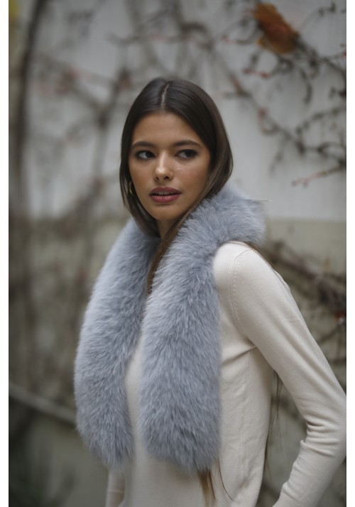 Fur collar of fox Hilda