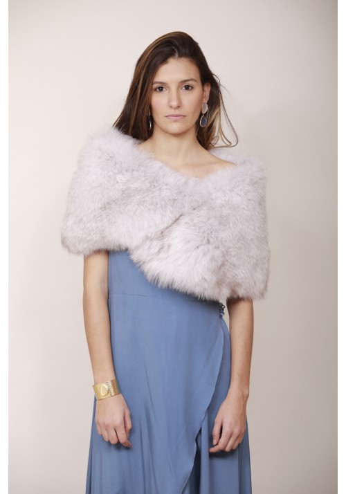 Fur stole of fox Colette