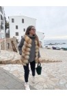 Fur vest of fox Carlota