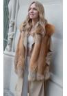 Fur vest of golden fox Joyce