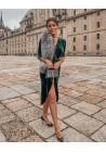 Estola de piel de zorro argente Paula Bridal Collection
