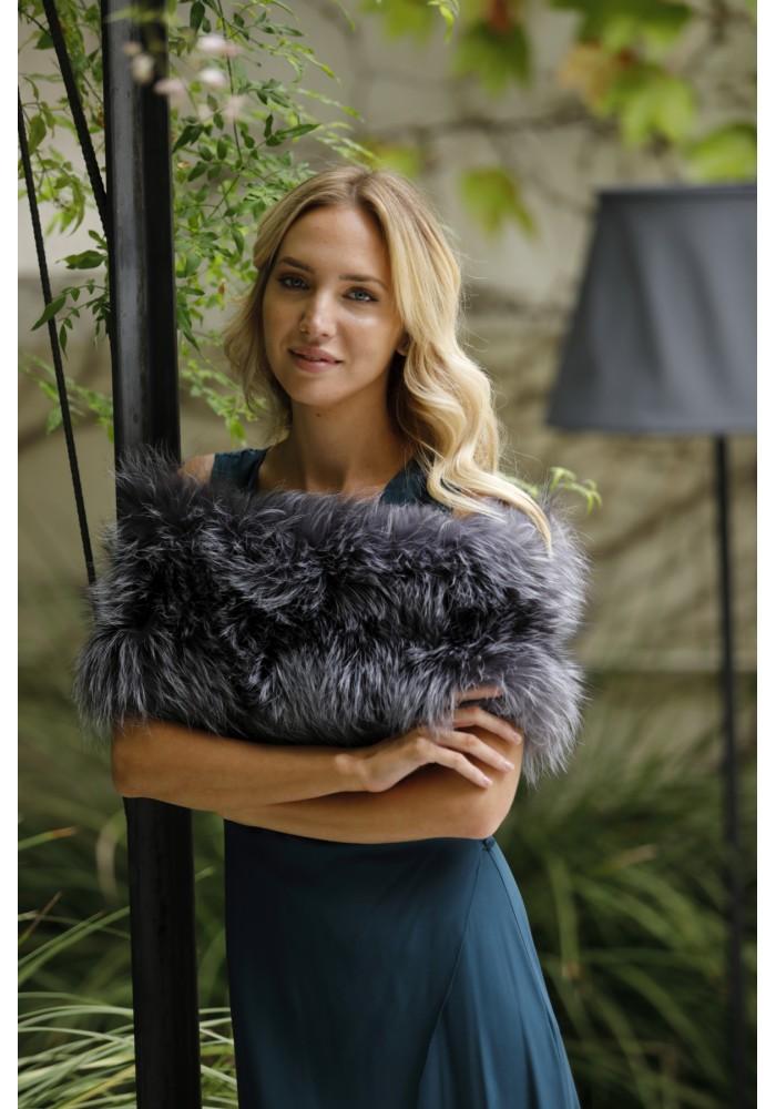 Fur elastic stole of fox Emma Bridal Collection