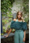 Fur elastic stole of fox Donna Bridal Collection