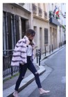 Fur jacket of rex Marta