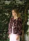 Fur jacket of fox Maya