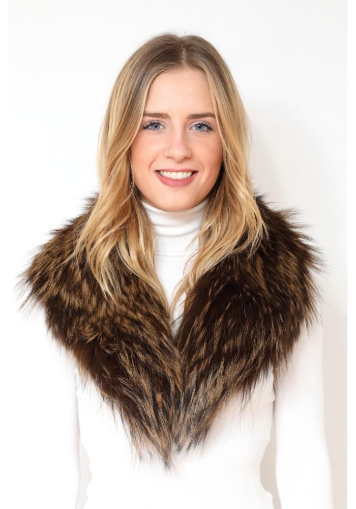 Fur collar of fox Cannes