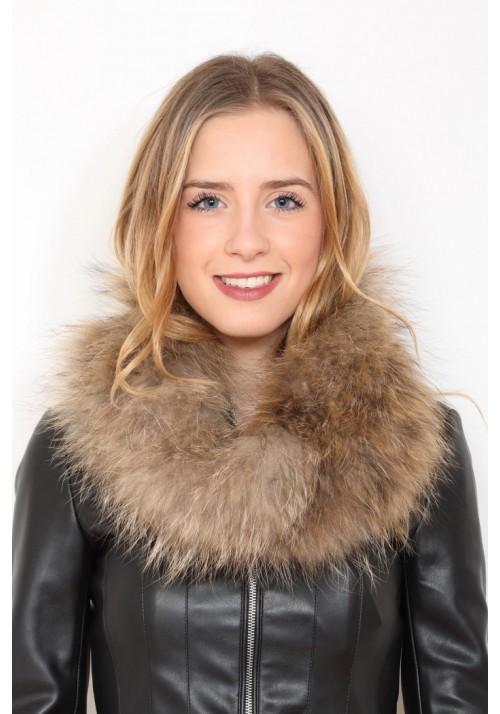 Fur knitted collar of fox Milan